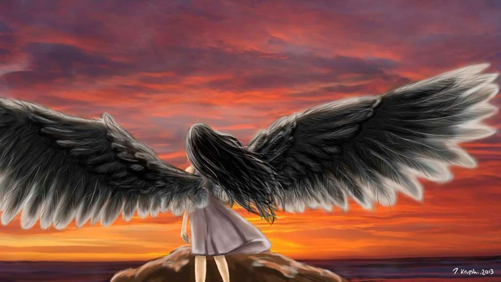 что означает поздравление крыльев за спиной лучше