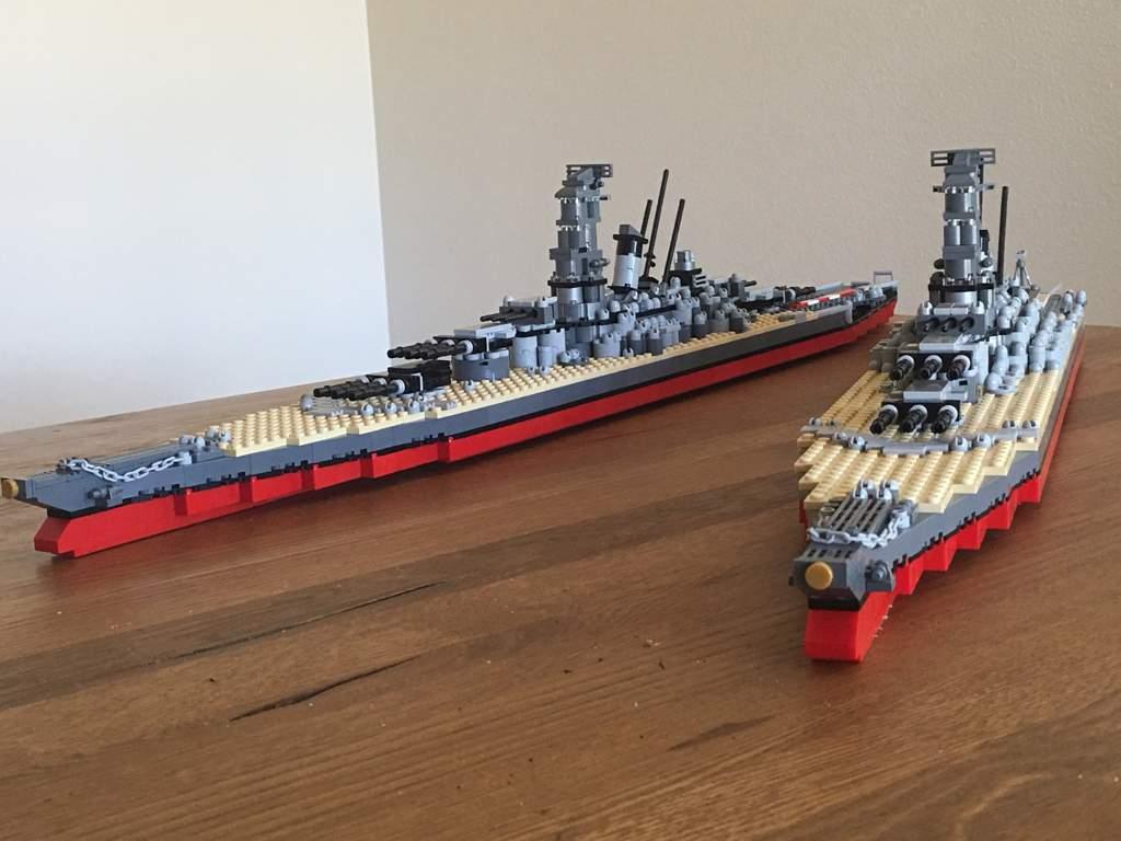 The Yamato-class battleships | LEGO Amino