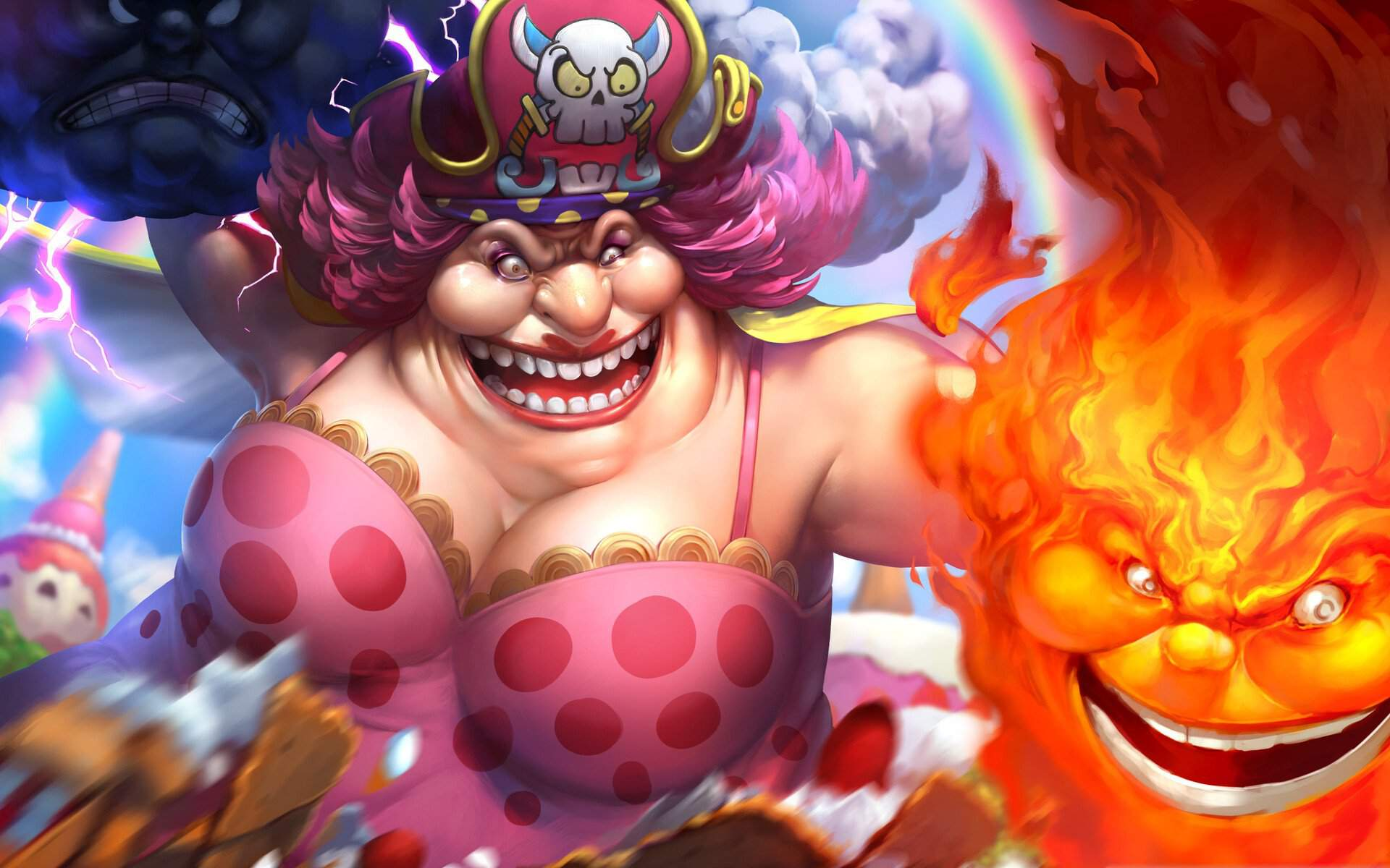 Likelihood that Big Mom will have no Major Role anymore ...