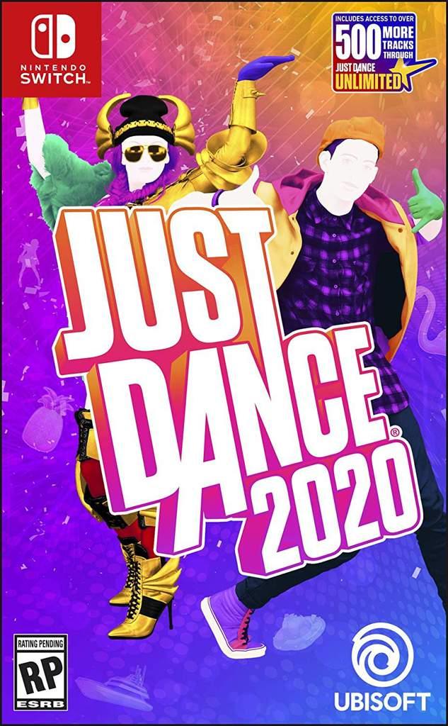 Just Dance 2020 - Switch boxart. | Nintendo Switch! Amino