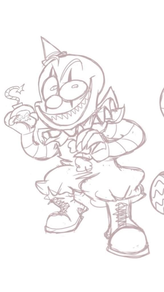 Clown Gremlin From Dark Deception Horror Amino