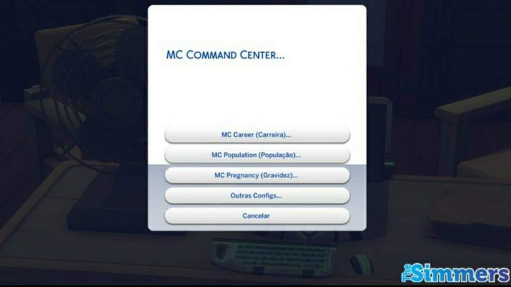 The Sims 4: Mods MC Command Center e UI Cheats Extension já