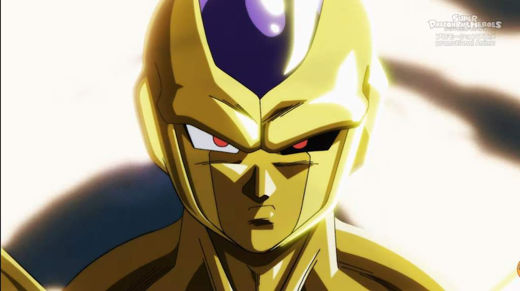 Golden Metal Cooler Super Dragon Ball Heroes Episode 12 Dragon