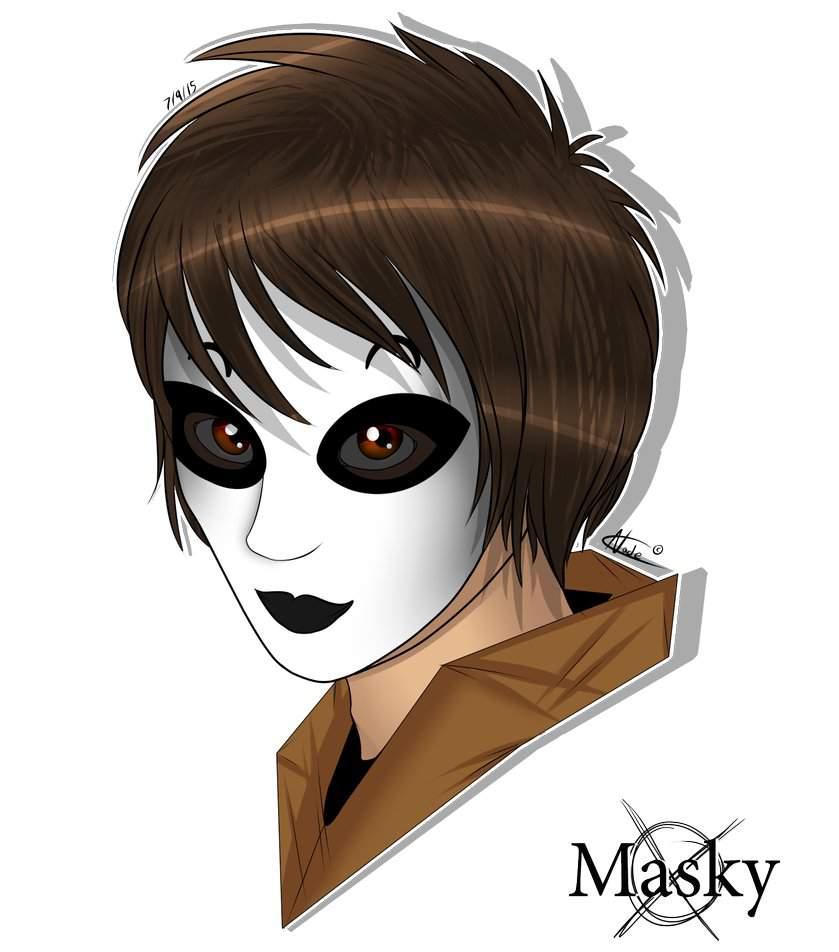 крипипаста картинки тим маска без маски