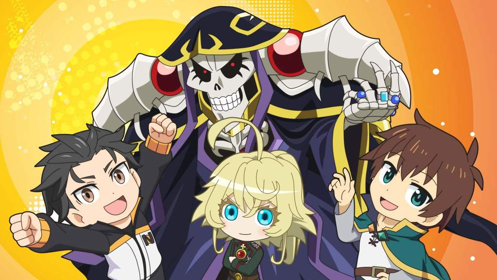 Isek High Isekai Quartet Not Crack Overlord Youjo Senki Re Zero Konosuba Spacebattles Forums