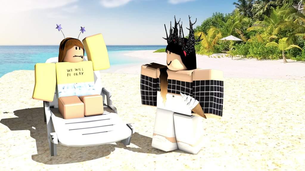 Summer Roblox Gfx Background