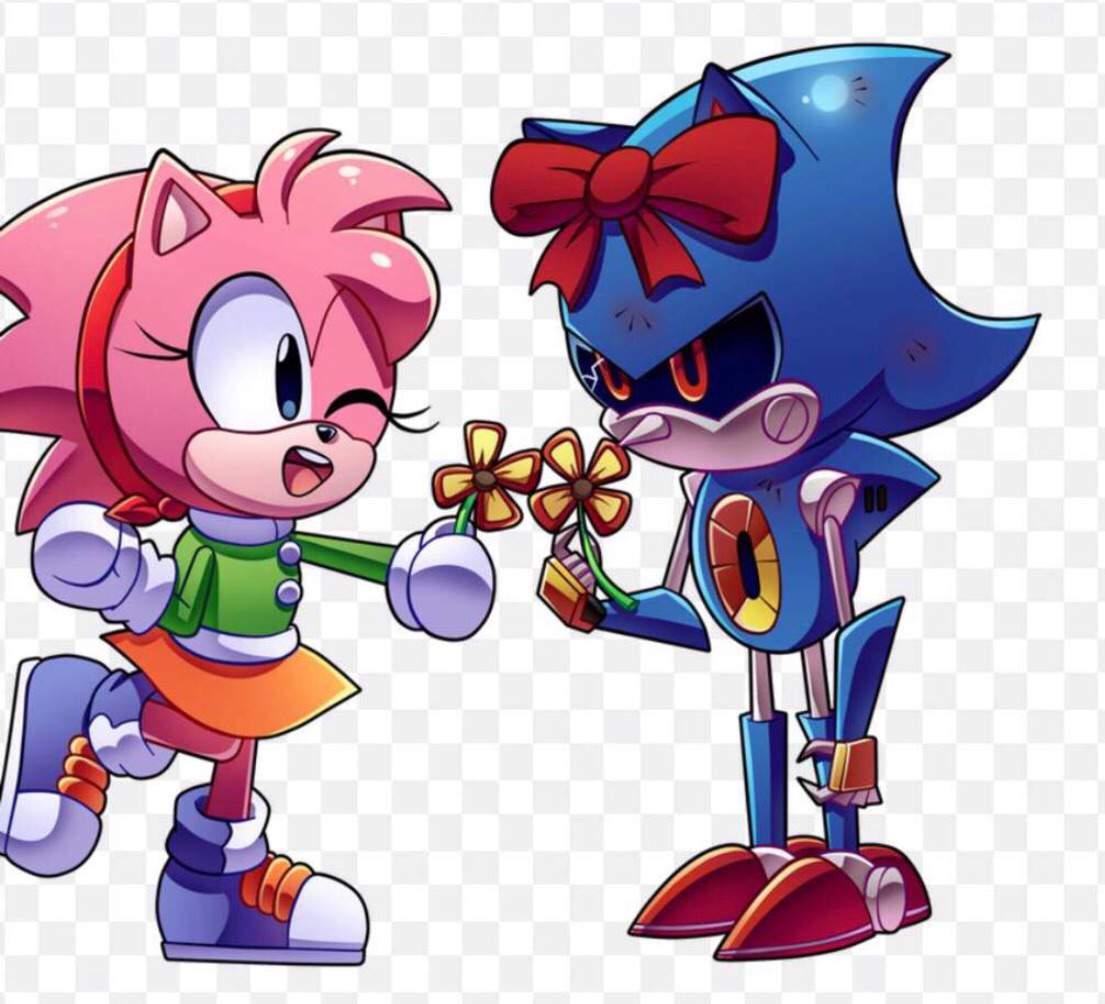 Amy X Metal Sonic