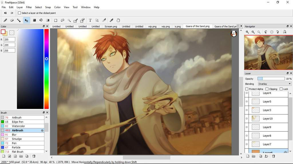 Gaara of the Sand | Anime Amino