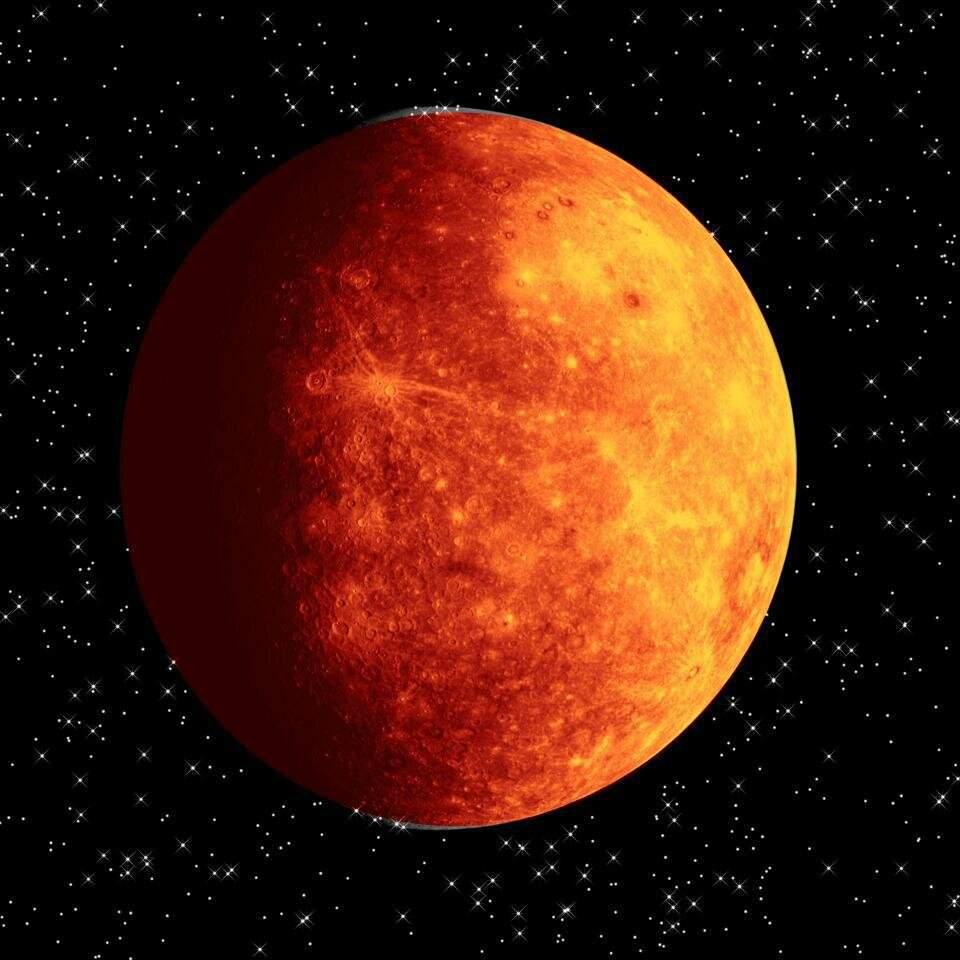 Картинки планета меркурий