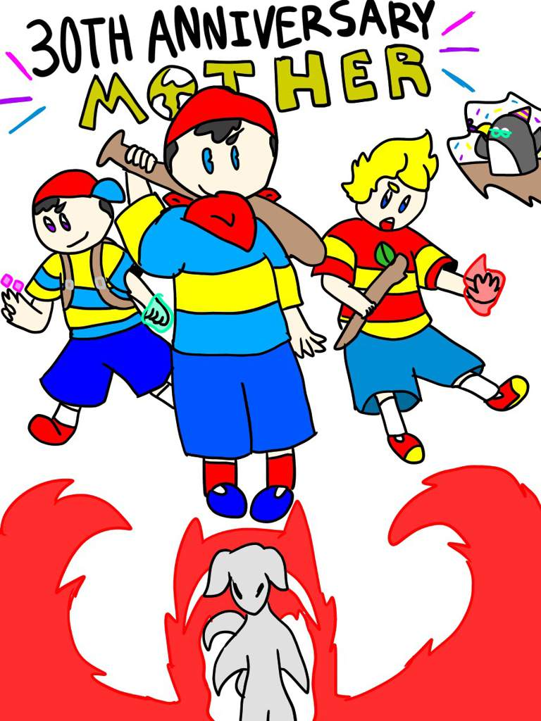 🎉MOTHER 30th Anniversary🎉 | EarthBound Amino