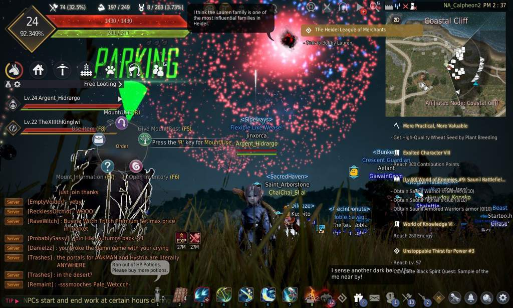 ✨Final Fantasy XIV - La Noscea at Dusk (Speedpainting