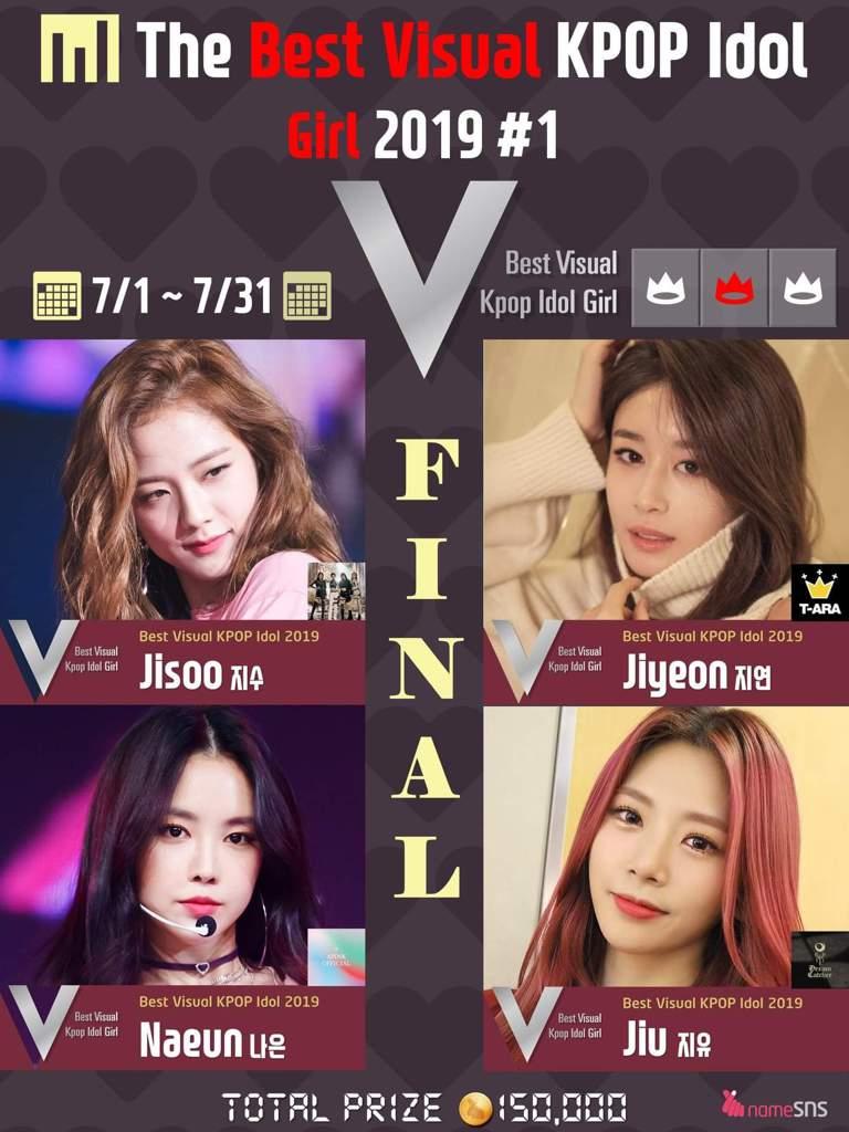 The Best Visual Kpop Idol 2019 1 Girl Final Jul 31 2019 Apink Amino Amino
