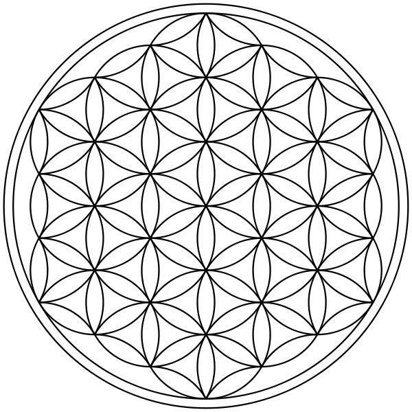 Um pouco sobre a flor da vida e grades de cristais | Wicca & Bruxaria Amino