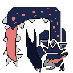 Narga 3u Icon Pixel Art Monster Hunter Amino