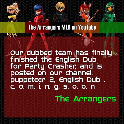Thearrangers mlb on youtube | Wiki | Miraculous Amino