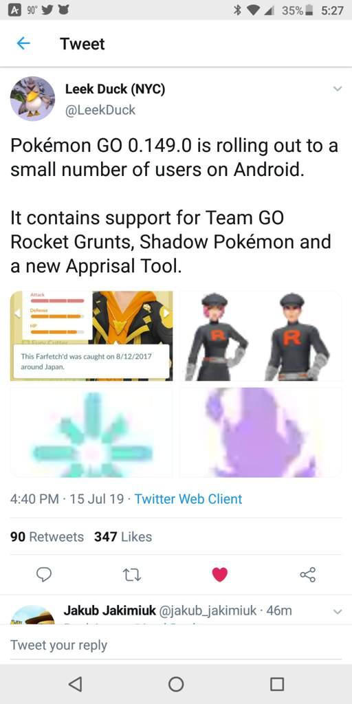 New Pokémon Go update rolling out   Pokémon Amino