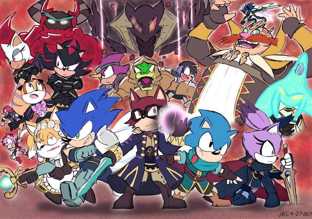 Sonic X Fire Emblem Sonic The Hedgehog Amino