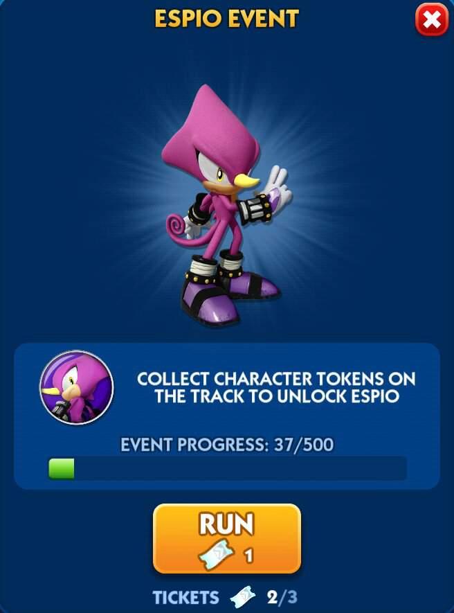 Espio Event In Sonic Dash Sonic The Hedgehog Amino