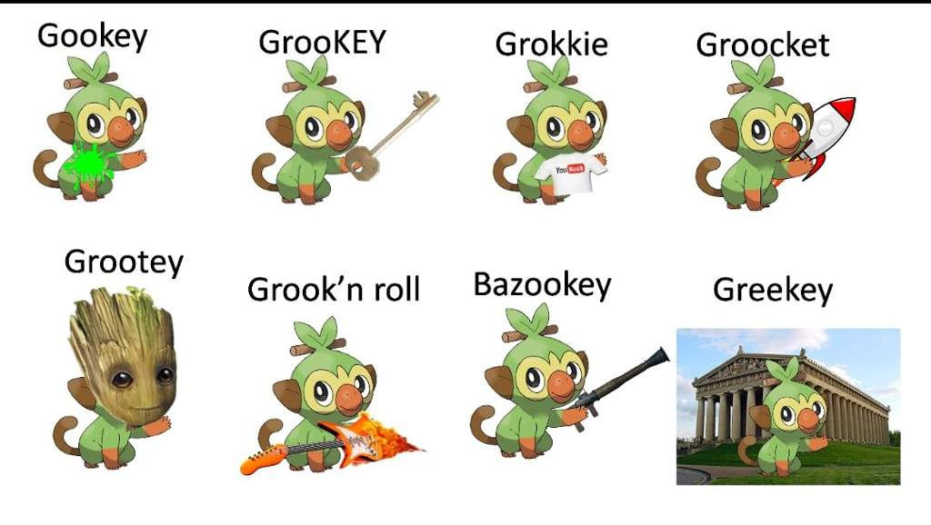Grookey Meme – Grooky is god in the form of god.