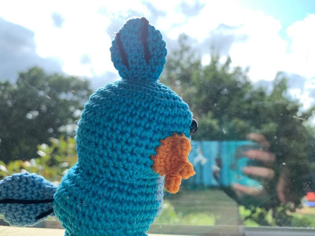 My mum's first attempt at a crocheted Pokémon blanket : pokemon   768x1024