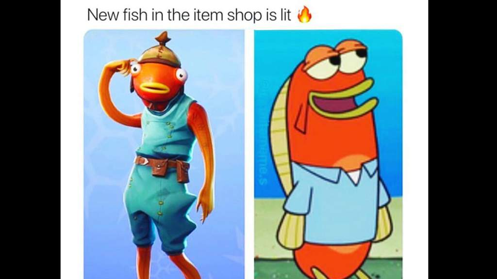 The Fish Skin In Game And Reality Fortnite Battle Royale Armory Amino