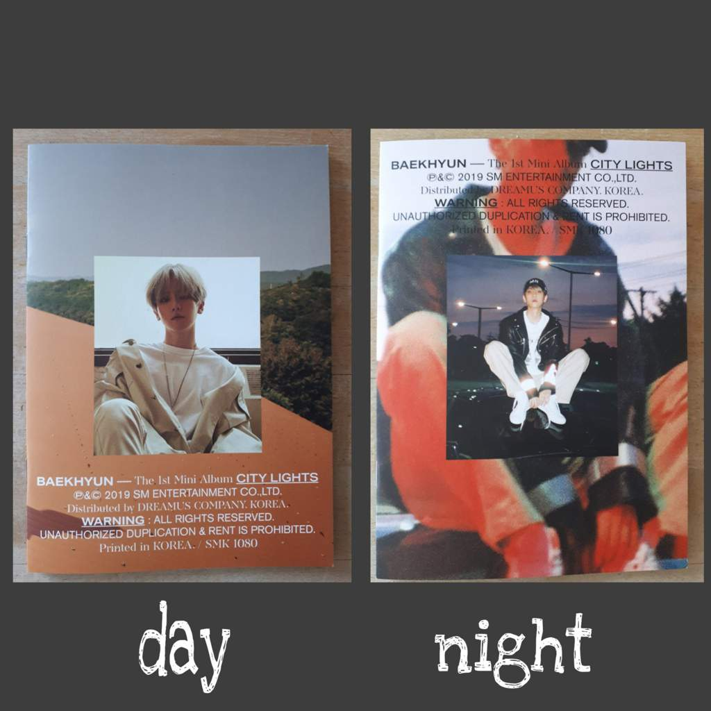 Unboxing City Lights Night And Day Version Exo 엑소 Amino
