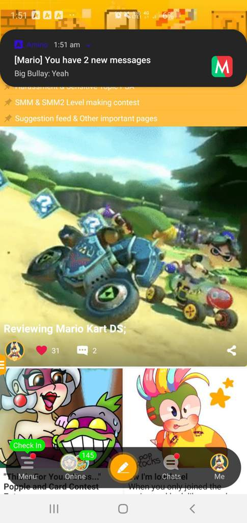 Reviewing Mario Kart DS