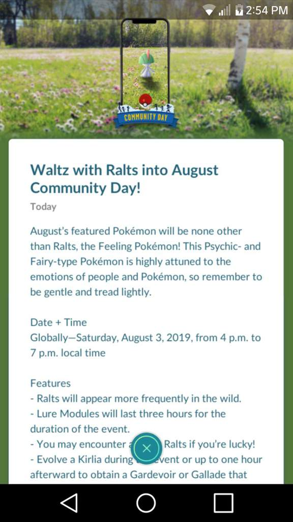 Upcoming Ralts Community Day! | Pokemon GO Amino