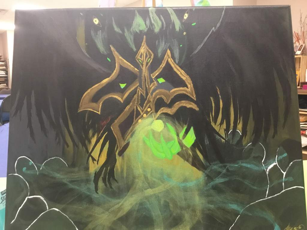 Tyrant Swain Painting Step By Step League Of Legends