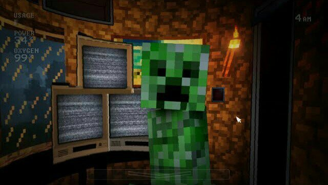 New Minecraft Office Mod in FNAF: Sister Location Private