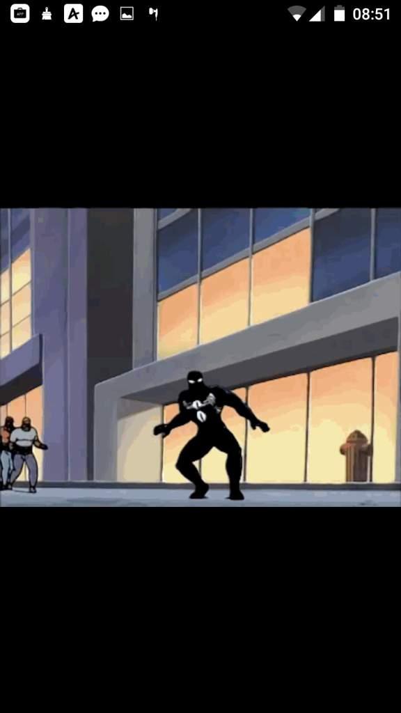 Spiderman unlimited 2 Eddie brock becomes venom scene