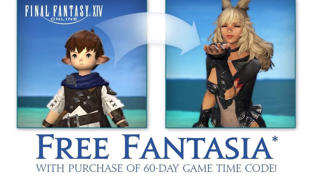 NA : Free Fantasia w/60 Day Game Time Card! | Final Fantasy