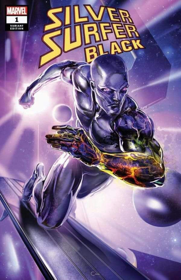Silver Surfer Black #1 Ryan Brown Variant Cover A Ltd to 3000