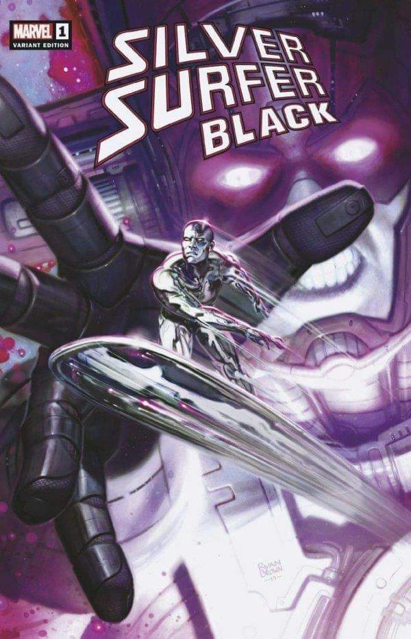Silver Surfer Black #1 Adi Granov ComicsPro Variant Limited Donny Cates
