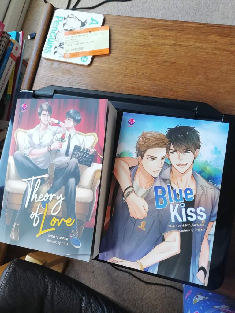Blis Theory Of Love And Blue Kiss English Books Update Bl Drama Amino