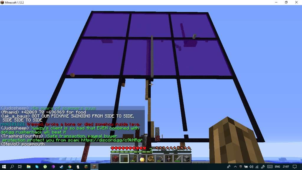 Journey to 200,000 blocks 2B2T [+30,000] | Minecraft Amino