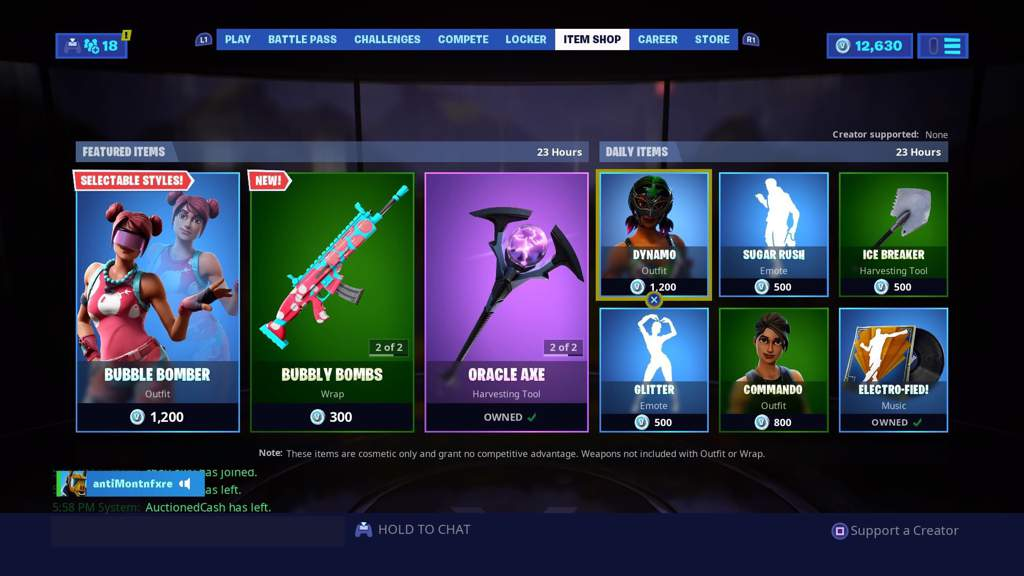 Today S Item Shop Fortnite Battle Royale Armory Amino The item shop is a virtual marketplace in fortnite: fortnite battle royale armory amino