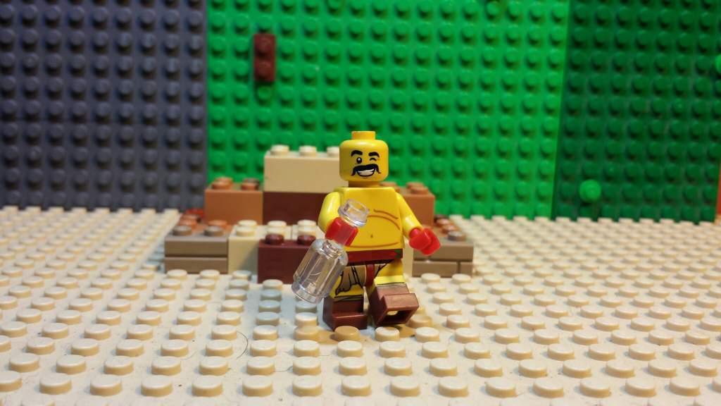 Custom punch out Soda Popinski Minifig | LEGO Amino