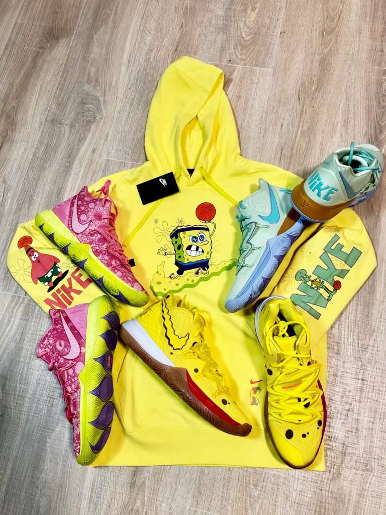 Weekend pick ups Kyrie x Spongebob Squarepant x Nike