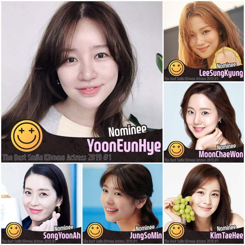 🏆The Best Smile KDrama Actress 2019 #1 🎯 R1 : ~ 9/15, 2019