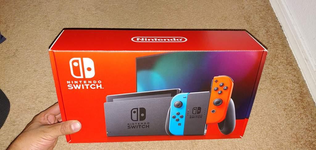 V2 Nintendo Switch Unboxing Nintendo Switch Amino