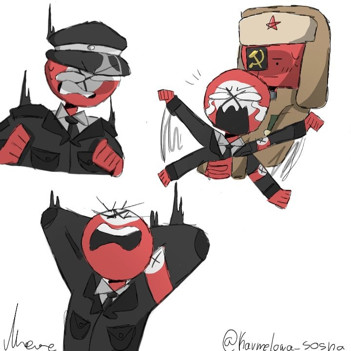 USSR x Third Reich | Wiki | •Countryhumans Amino• [ENG] Amino