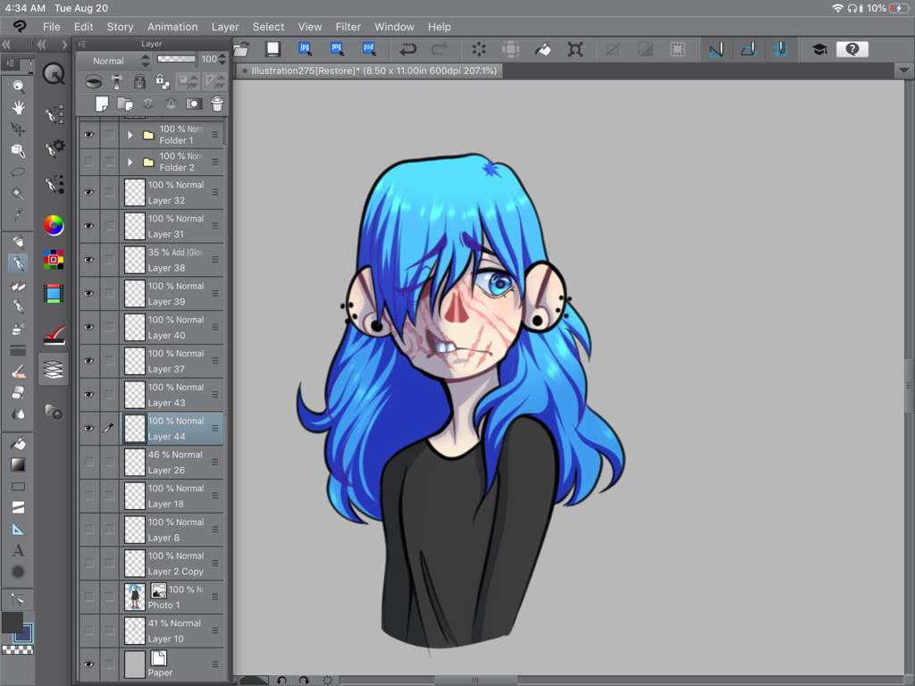 Sal without his mask   -Sally Face- Amino