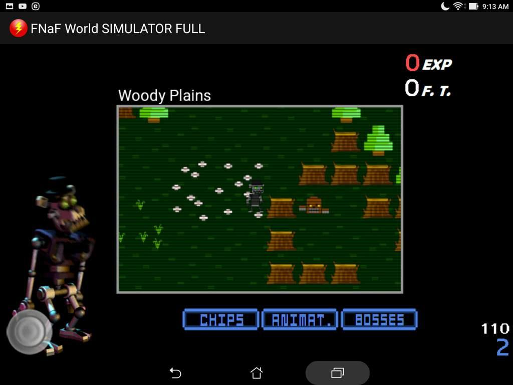 fnaf world simulator(play as characters) | Five Nights At