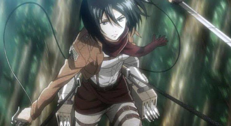 Attack on Titan Character: Mikasa Ackerman