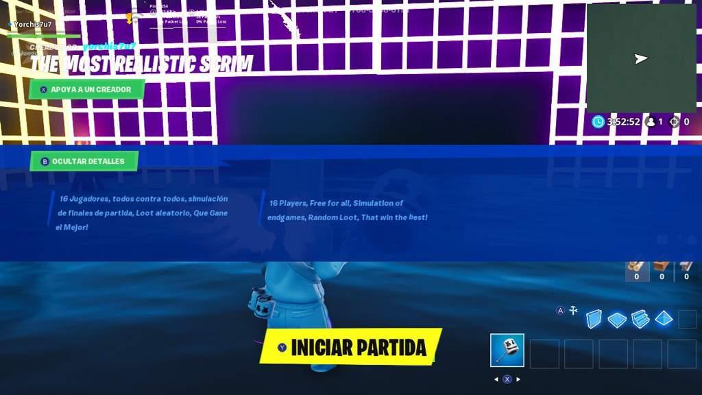 Fortnite Scrims Simulator Nuevo Mapa De Scrims Con Tormenta Fortnite Fortnite Espanol Amino