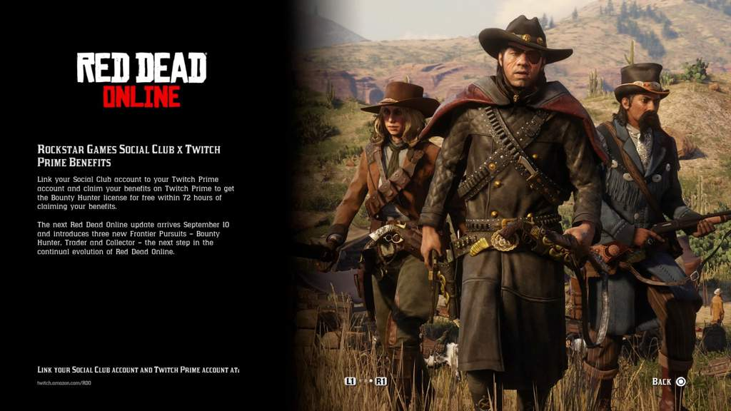 Amazon Prime and PlayStation bonuses | The Red Dead