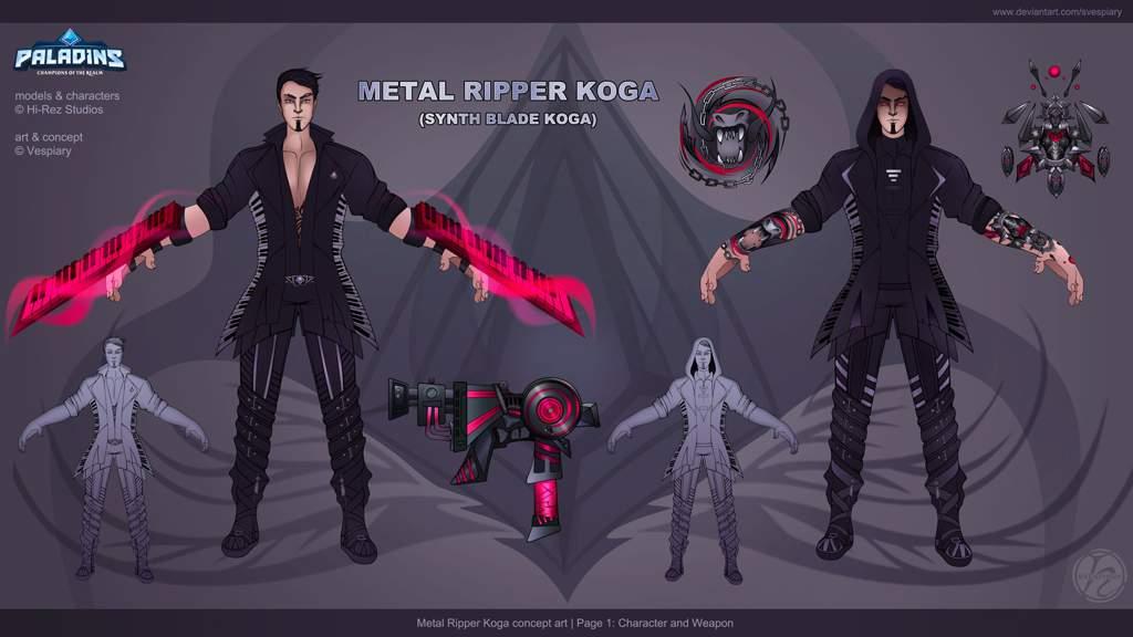Metal Concept Art