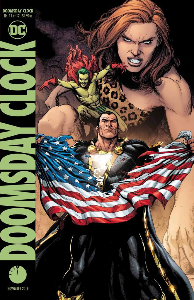 Doomsday Clock Review Part 11 Comics Amino