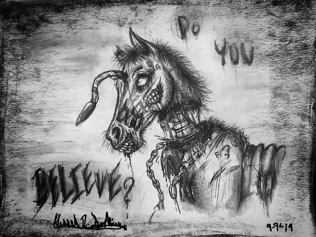 Zombie Horse Do You Believe Horror Amino